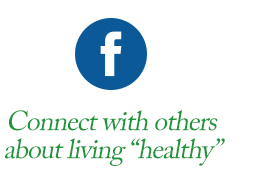 "Connect with others about living ""healthy"""