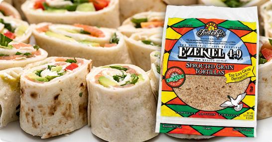 Ezekiel 4:9 Sprouted Grain Tortilla Pinwheels