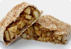 Sprouted Tortilla Apple Strudel