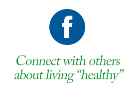 "Facebook: Connect with others about living ""healthy"""