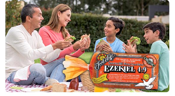Sprouted 100% Whole Grain Ezekiel 4:9 bread
