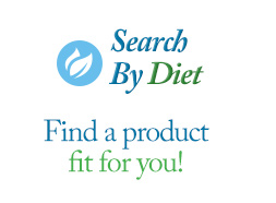 Search By Diet | Find a product fit for you!
