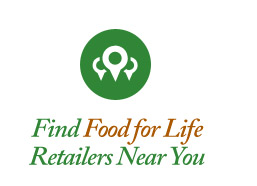 Find Food for Life Retailers New You