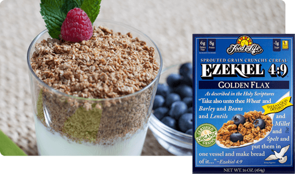 Ezekiel 49 Flax Sprouted Whole Grain Cereal