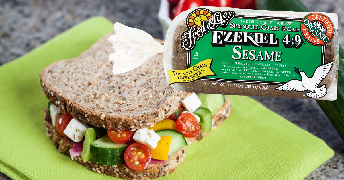 1 Reason People Choose Sprouted Grain Ezekiel Sesame Seed Bread Food For Life