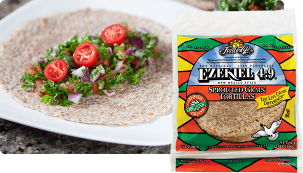 Sprouted Grain Tortilla Whole Foods