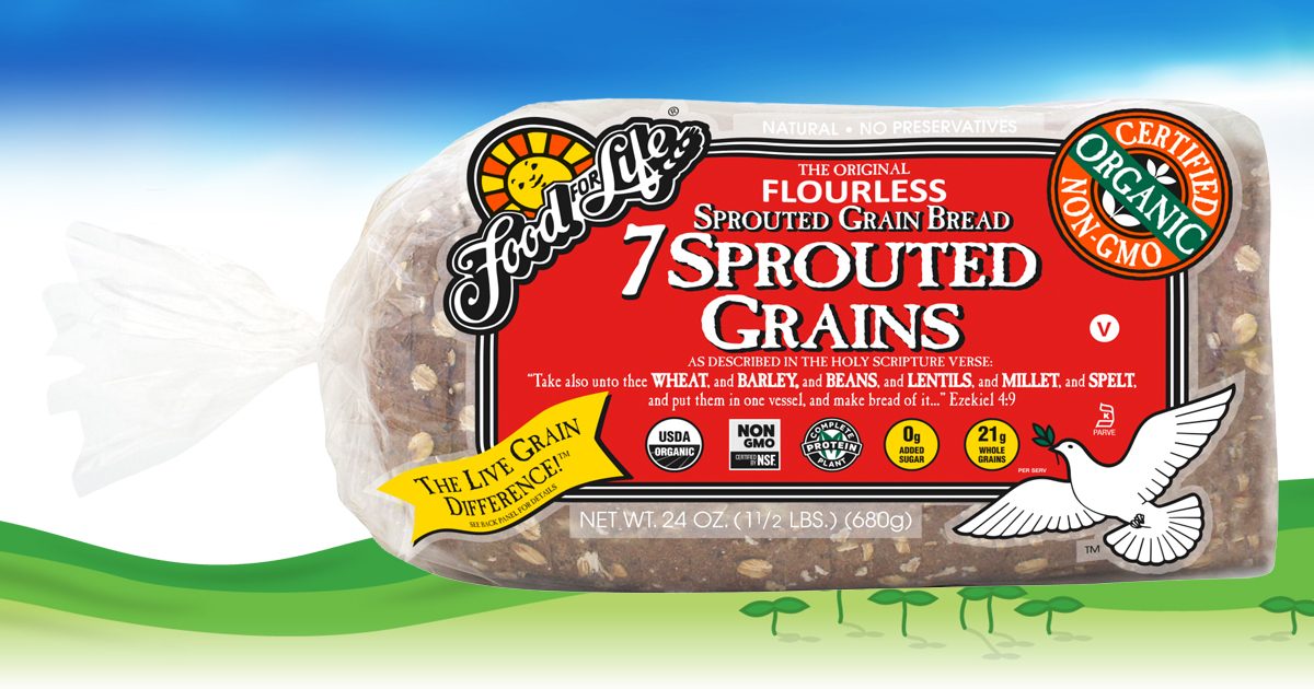7 Sprouted Grains Bread Food For Life