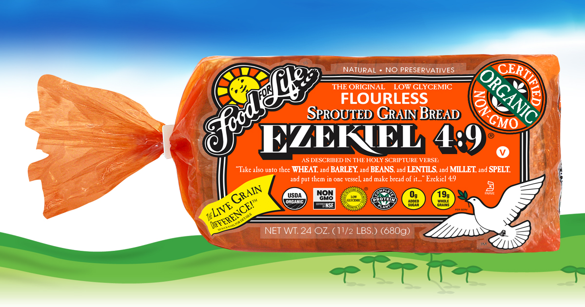Ezekiel Sprouted Bread Food For Life Ezekiel Bread Ingredients