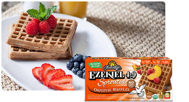 Ezekiel 4:9 Sprouted Original Waffles