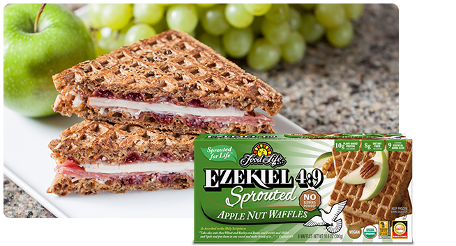 Ezekiel 4:9 Apple Nut Waffles
