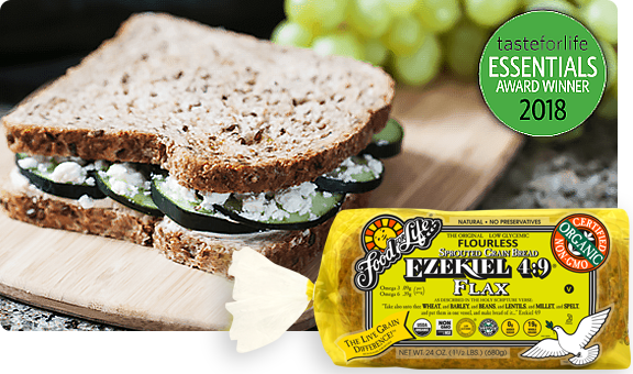 Ezekiel 4 9 Flax Sprouted Whole Grain Bread Food For Life