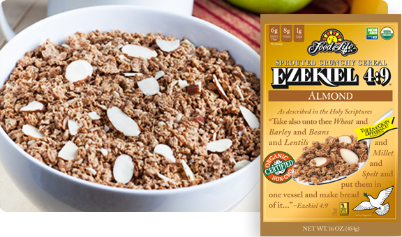 Ezekiel 4:9 Almond Sprouted Whole Grain