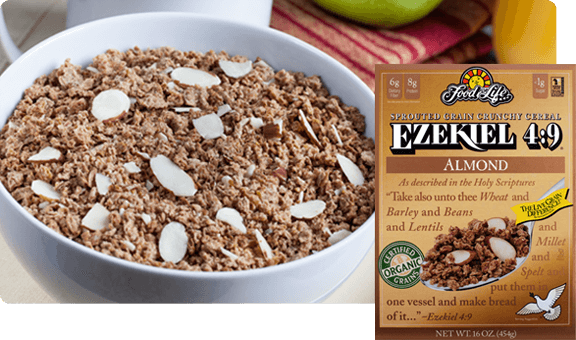 Ezekiel 49 almond sprouted whole grain cereal food for life ezekiel 49 almond sprouted whole grain cereal ccuart Gallery