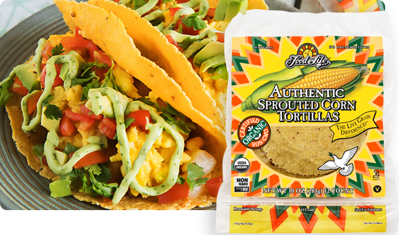 Sprouted Corn Tortillas Food For Life Healthy Tortillas