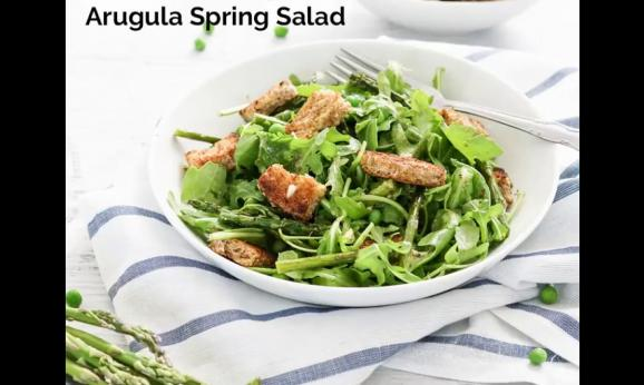 Embedded thumbnail for Roasted Asparagus and Arugula Spring Salad