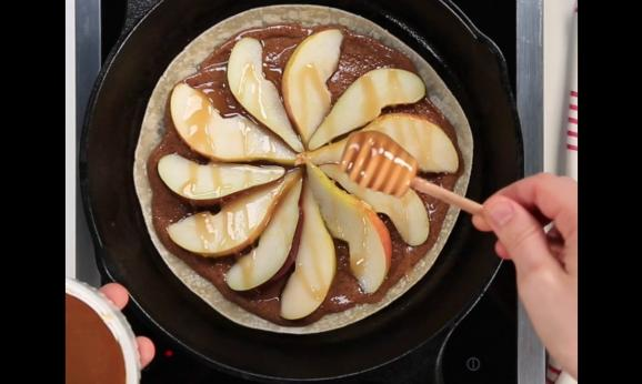 Embedded thumbnail for Honey-Pear Quesadilla