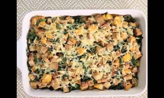 Embedded thumbnail for Kale, Butternut, and Gruyere Dressing