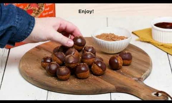 Embedded thumbnail for Pumpkin Truffle Energy Bites