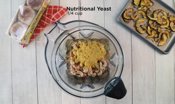 Embedded thumbnail for Roasted Squash and Vegan Ricotta Ezekiel 4:9 English Muffins