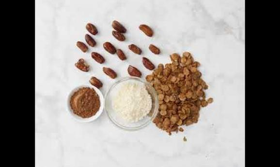 Embedded thumbnail for No-Bake Cocoa Date Bites