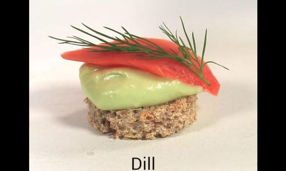 Embedded thumbnail for Smoked Salmon Canapes With Avocado